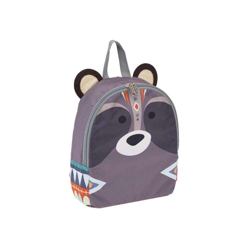 Рюкзак mini 22x25x11, 113г. 5L ErichKrause Easy Line, Mini Animals MImi Racoon