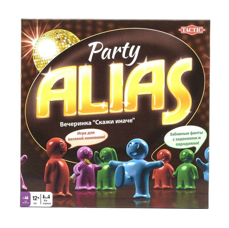 Galda spēle ALIAS Party RU
