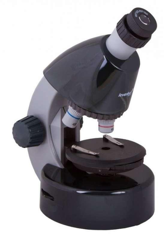 Микроскоп детский с экспериментальным набором К50 40x-640x, серый