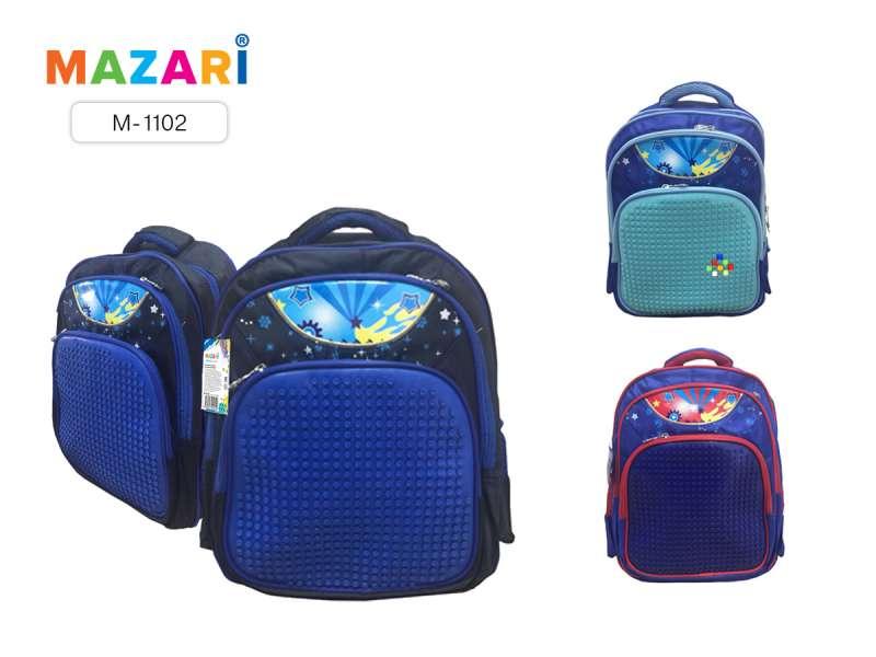Рюкзак школьный для мальчиков MOSAIC, 38х29.5х16см