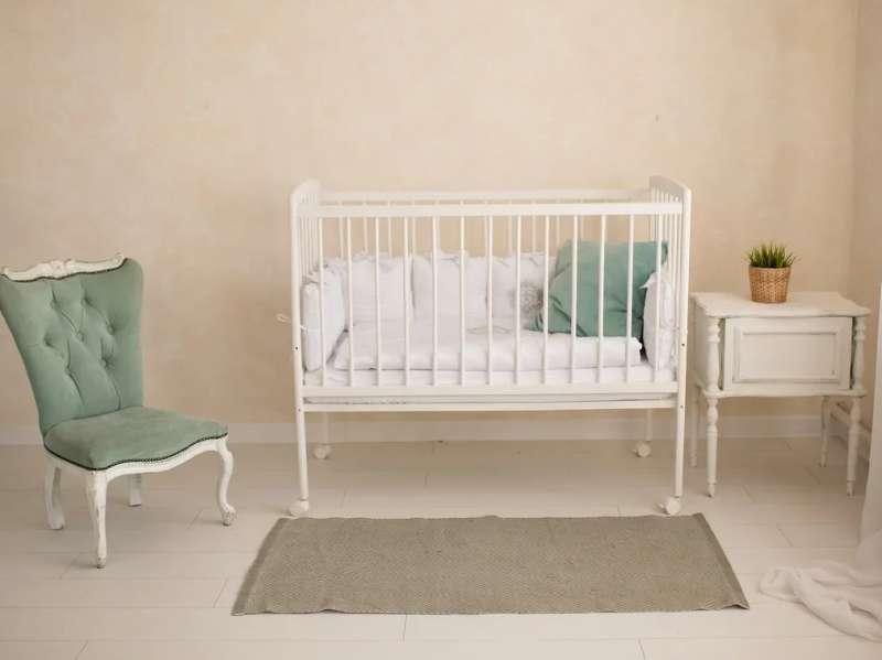 Bērnu gulta Golden baby, balta krāsa