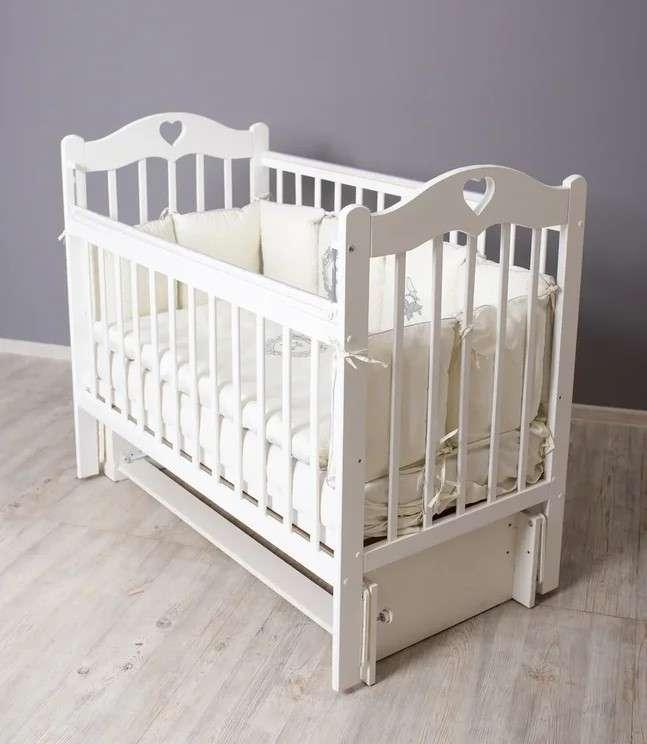 Bērnu gulta Sofi ,  balta krāsa