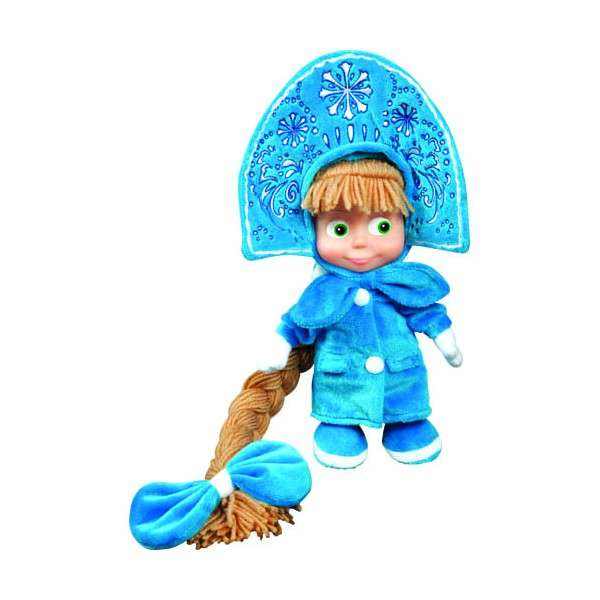 Мягкая музыкальная игрушка Маша-Снегурочка